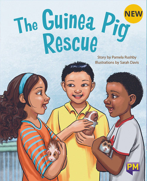 PM Library Gold The Guinea Pig Rescue 21 (L-N) 6-Pack
