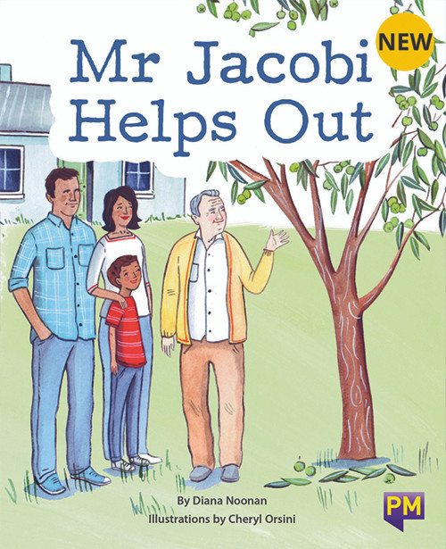 PM Library Gold Mr Jacobi Helps Out 21 (L-N) 6-Pack