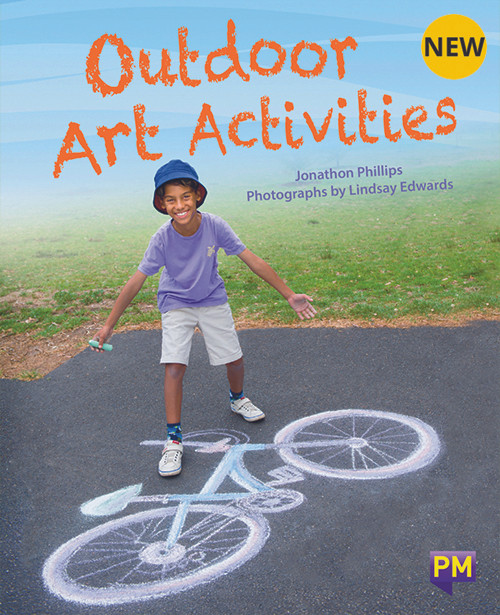 Pm Library Silver Outdoor Art Activities 24 (N-O) 6-Pack
