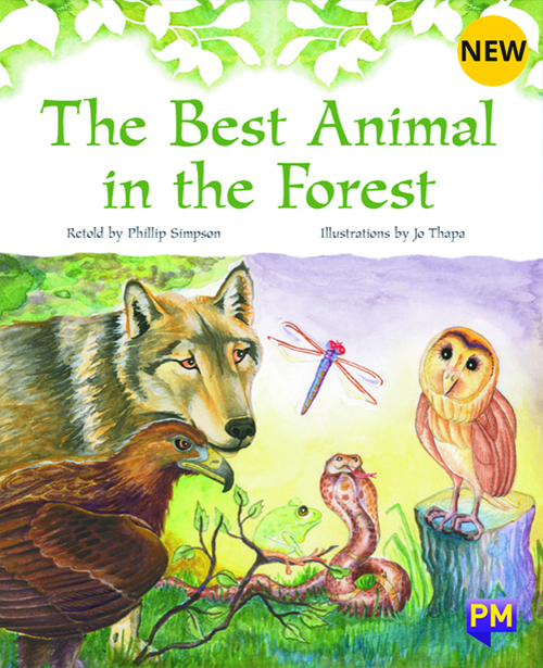 PM Library Purple The Best Animal In The Forest 19 (K) (6-Pack)