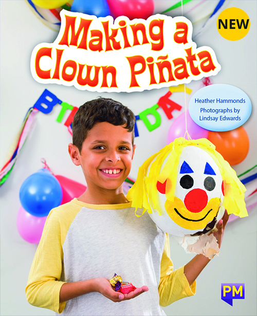 PM Library Purple Making A Clown Pinata 19 (K) (6-Pack)