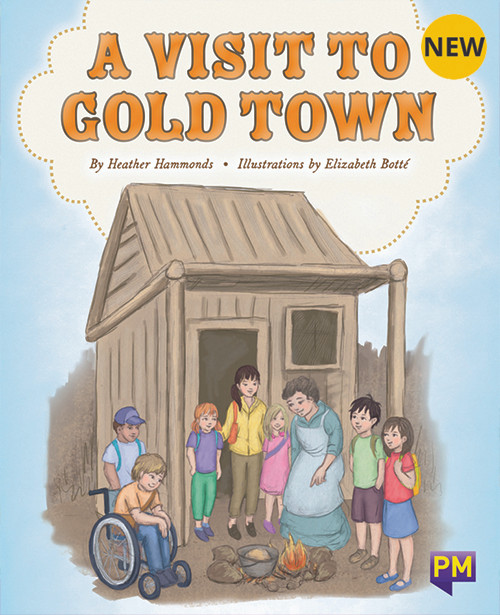 PM Library Purple A Visit To Gold Town 20 (K-L) (6-Pack)