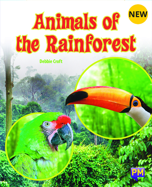 PM Library Purple Animals Of The Rain Forest 20 (K-L) (6-Pack)
