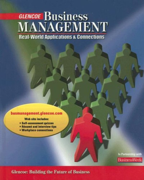 Business Management - Real-World Applications and Connections | Student Edition (Print) - 9780078650178