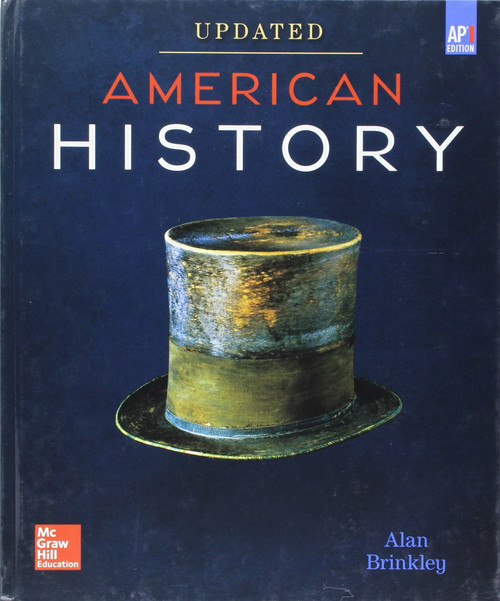 American History - Connecting with the Past - Fifteenth Edition | Student Edition (Reinforced Binding) - 9780076738304