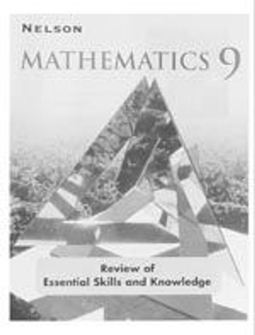 Nelson Applied Mathematics - Grade 9 | Review of Essential Skills and Knowledge Book - 9780176157463
