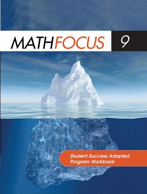 Math Focus (Grade 9) | Student Success Adapted Program Workbook - 9780176324797