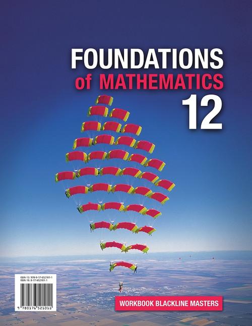 Foundations Of Mathematics - Grade 12 | Student Workbook (Consumable) (5-Pack) - 9780176593247