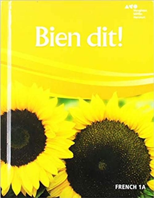Bien Dit! - Level 1A | Student Edition - 9780544861312