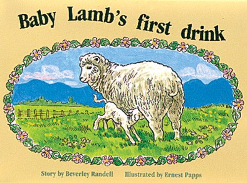 PM Library Red Baby Lamb's First Drink Lvl 4