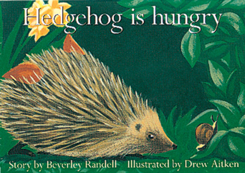 PM Library Red Hedgehog is Hungry Lvl 3
