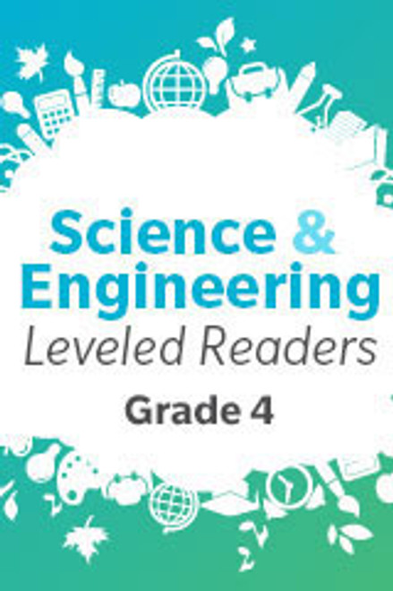 HMH Science & Engineering Levelled Readers (Grade 4)   Library Strand Set of 6(contains 6 copies of each Extra Support, On Level, and Enrichment Reader plus Teachers Guide) - 9780544317970