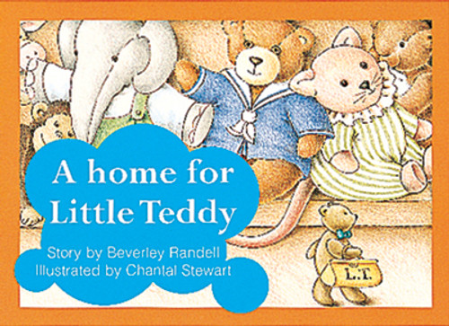 PM Library Red A Home for Little Teddy Lvl 5