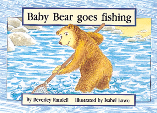 PM Library Yellow Baby Bear goes fishing Lvl 7