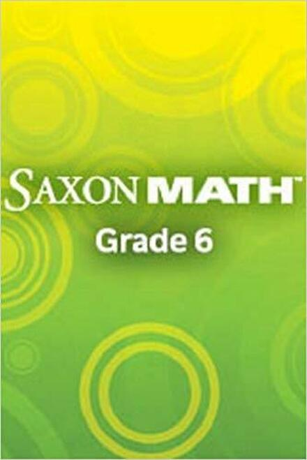 Saxon Math - Course 1 (Grade 6) - Online Teacher Manual, 1-Year