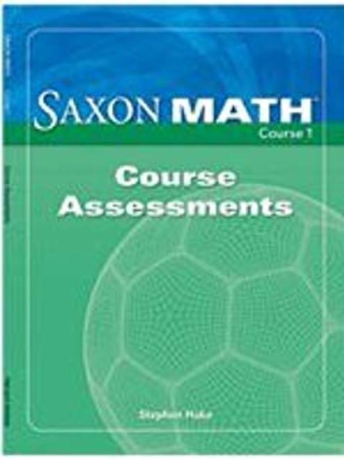 Saxon Math - Course 1 (Grade 6) | Instructional Masters - 9781591418191