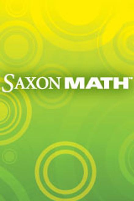 Saxon Math - Course 1 (Grade 6)   Manipulative Kit - 9781591418290