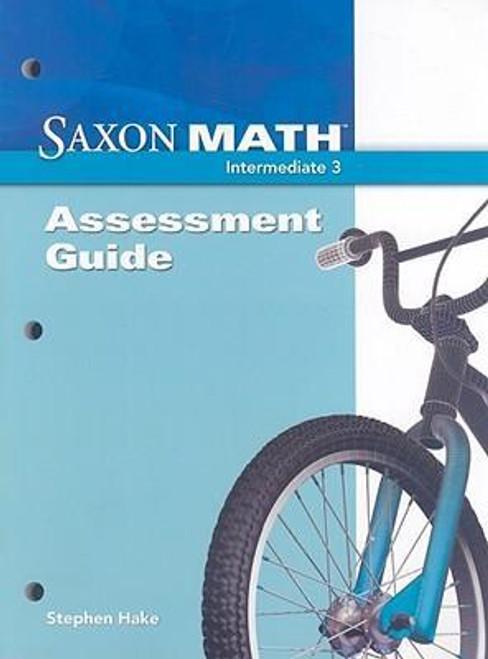 Saxon Math - Intermediate Grade 3 | Assessment Guide - 9781600323584
