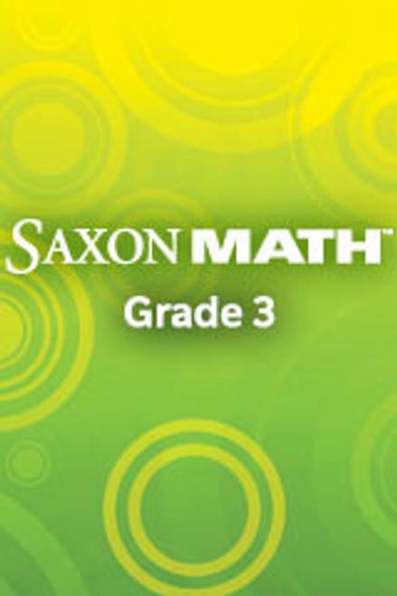 Saxon Math - Grade 3 | Classroom Materials (includes meeting board materials and teacher instructional charts) - 9781600327667