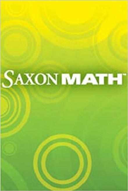 Saxon Math - Intermediate Grade 3   Intermediate 3-5 Teacher Resource Handbook - 9781602770485