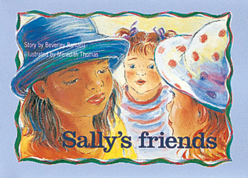 PM Library Blue Sally's friends Lvl 9