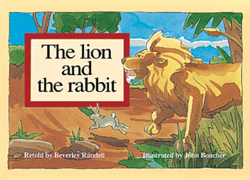 PM Library Blue The Lion and the Rabbit Lvl 9