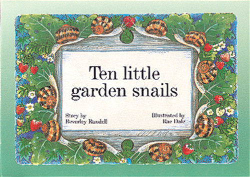 PM Library Green Ten Little Garden Snails Lvl 13