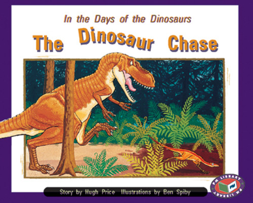 PM Library Orange The Dinosaur Chase Lvl 16