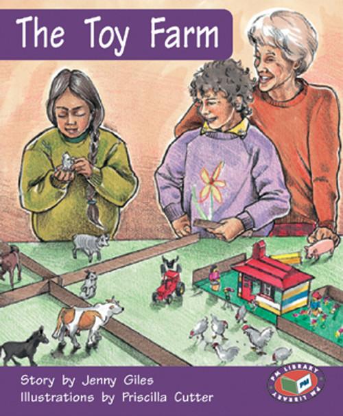 PM Library Orange The Toy Farm Lvl 15