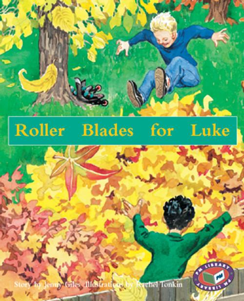 PM Library Orange Skates for Luke Lvl 16