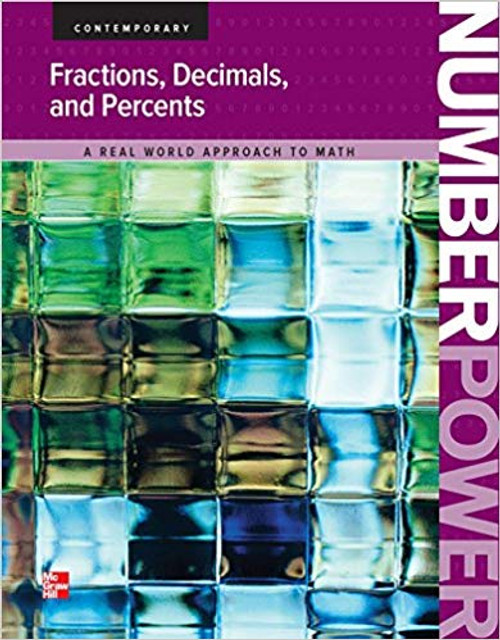 Contemporarys Number Power   Fractions, Percents and Decimals - 9780076592272