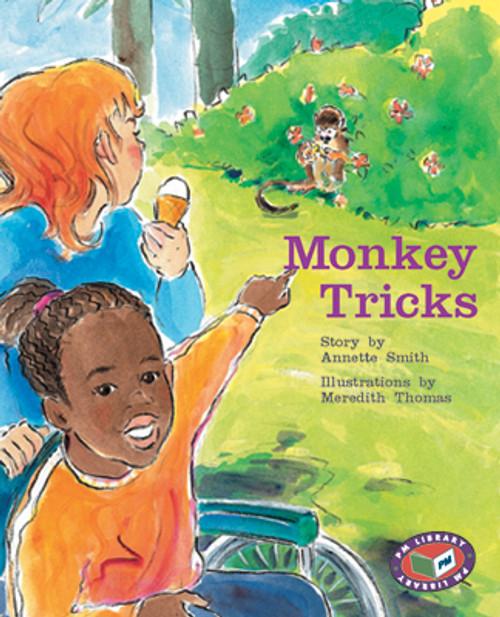 PM Library Turquoise Monkey Tricks Lvl 17
