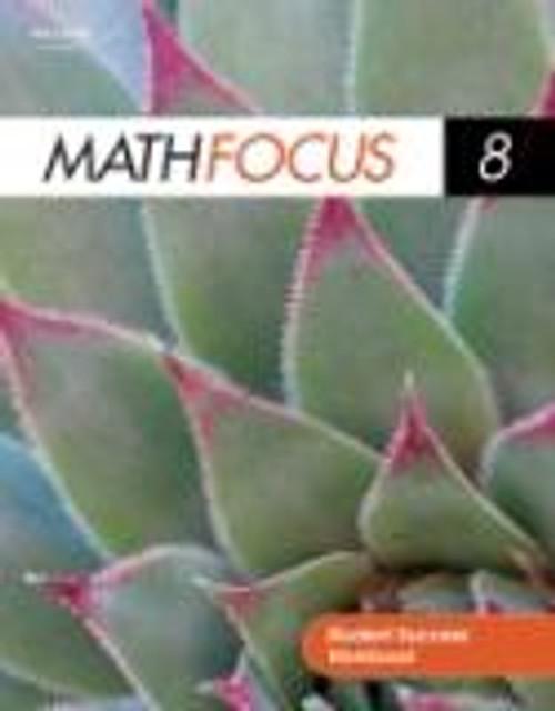 Math Focus (Grade 8)   Student Success Adapted Program Workbook - 9780176324735