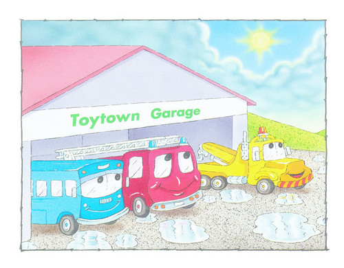 PM Family Favourite Characters Single Copy Sets - Toytown Vehicles Single Copy Set (1 copy of 6 titles)