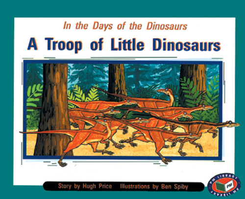 PM Library Purple A Troop Of Little Dinosaurs Lvl 19
