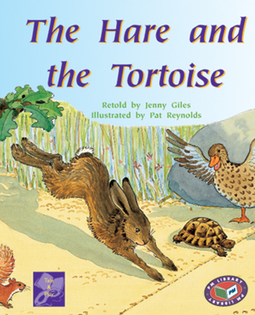 PM Library Purple The Hare and the Tortoise Lvl 19
