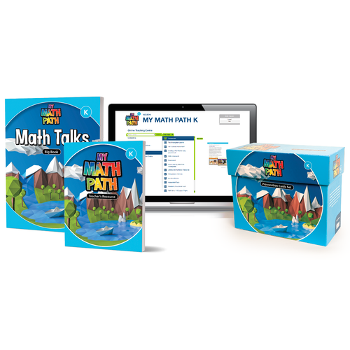 My Math Path - Provocations   Kindergarten - Complete Set - 9780176884413