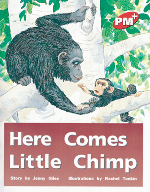 PM Plus Red Here Comes Little Chimp Lvl 3