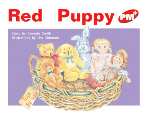 PM Plus Red Red Puppy Lvl 4