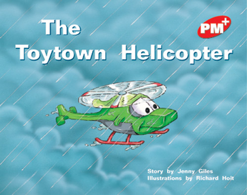 PM Plus Red The Toytown Helicopter Lvl 5