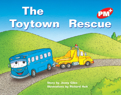 PM Plus Red The Toytown Rescue Lvl 5