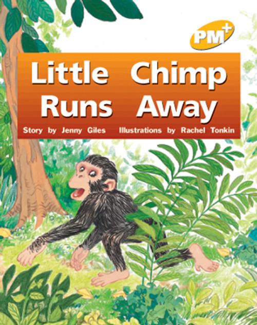 PM Plus Yellow Little Chimp Runs Away Lvl 6