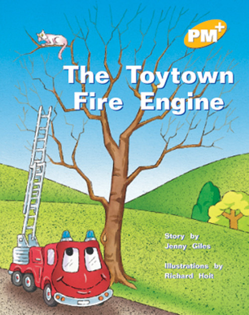 PM Plus Yellow The Toytown Fire Engine Lvl 6