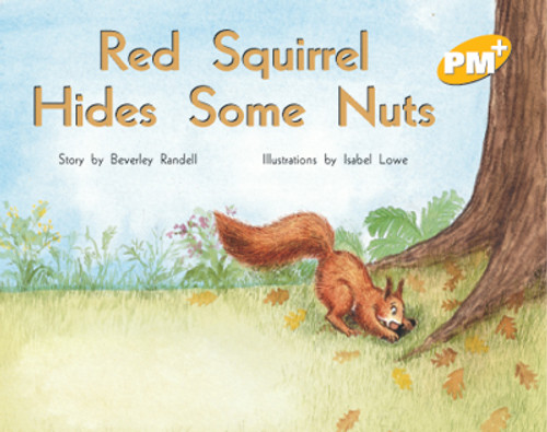 PM Plus Yellow Red Squirrel Hides Some Nuts Lvl 7
