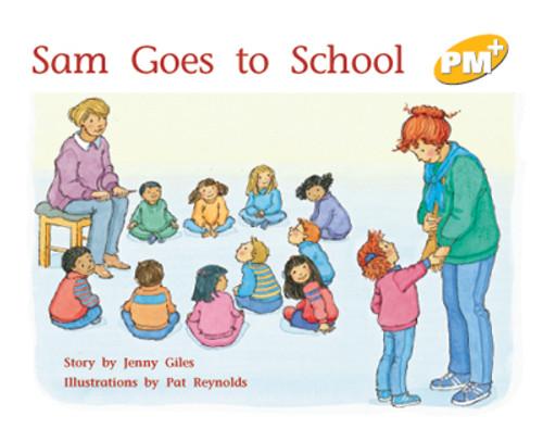 PM Plus Yellow Sam Goes to School Lvl 7