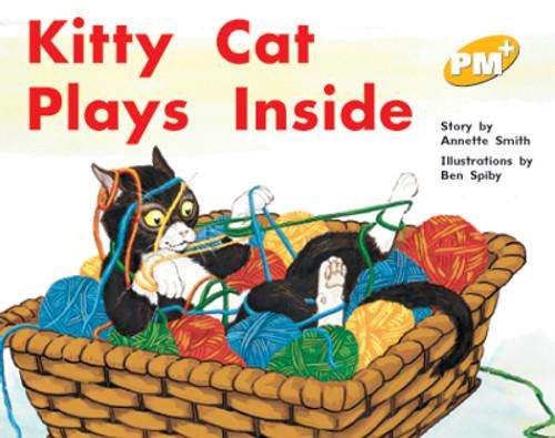 PM Plus Yellow Kitty Cat Plays Inside Lvl 8