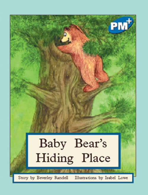 PM Plus Blue Baby Bear's Hiding Place Lvl 10