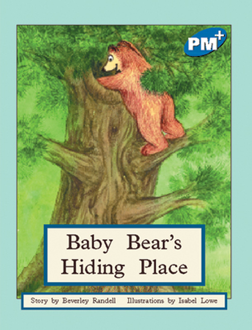 PM Plus Blue Baby Bear's Hiding Place Lvl 10