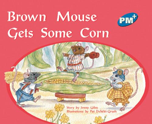 PM Plus Blue Brown Mouse Gets Some Corn Lvl 10