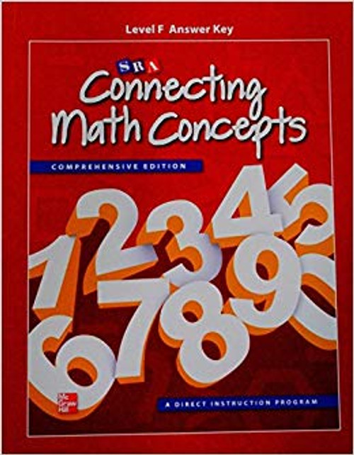 Connecting Math Concepts (Level F)   Answer Key - 9780021149018